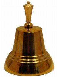 Сувенирный колокольчик с ручкой «тюльпан»