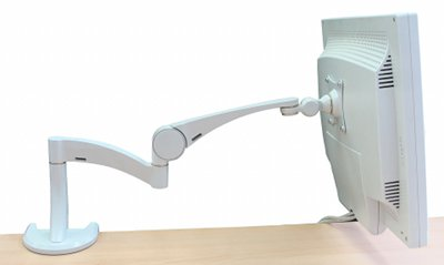 Кронштейн с установленным на него монитором.